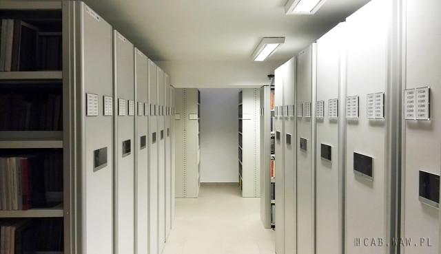 Magazyny Biblioteki WAT ze zautomatyzowanym system przechowywania