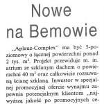 Kurier Wolski – Nowe na Bemowie