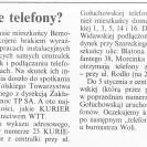 Kurier Wolski – Gdzie te telefony