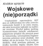Kurier Wolski – Wojskowe (nie)porządki