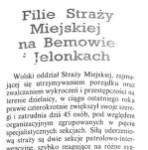 Kurier Wolski – Filie Straży Miejskiej na Bemowie i Jelonkach