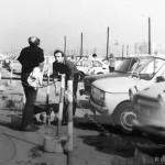 Parking przy ul Powstancow Slaskich fot Elżbieta Pęsiek