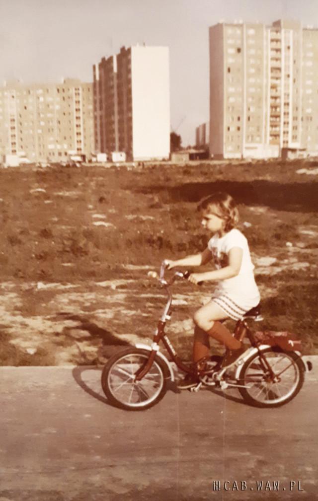 Bloki przy ul. Irzykowskiego - lata 80.