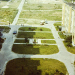 Widok na Park Górczewska – lata 80.