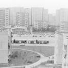 Autobusy przy ul. Powstańców Śląskich – lata 80.